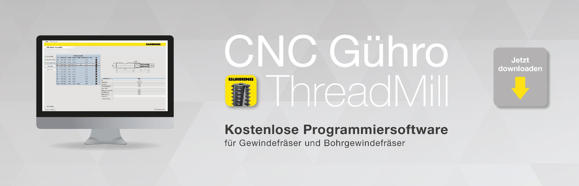 CNC Gühro Thread Mill Software